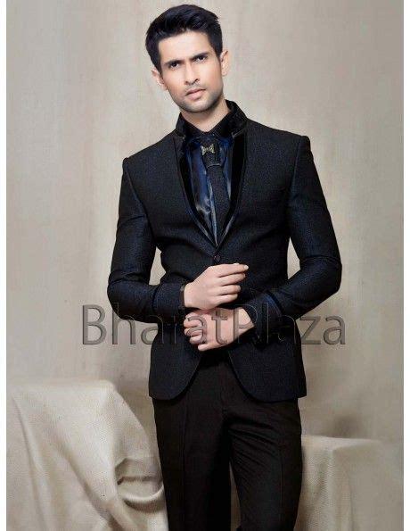 Glamorous Look Black Suit Httpwwwbharatplazacommens