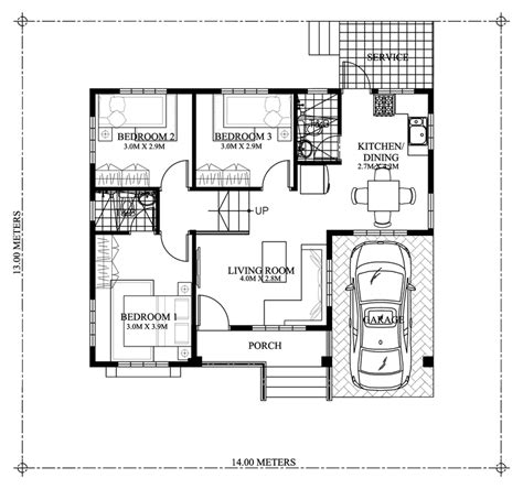 3 Bedroom Floor Plan In Philippines by Begilda Elevated Gorgeous 3 Bedroom Modern Bungalow