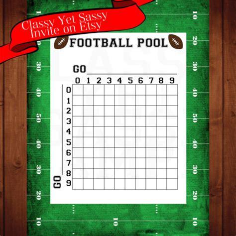 football pool template 19 football pool templates word excel pdf free premium templates
