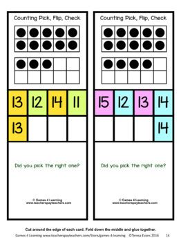 counting   clip cards numbers   ten frames