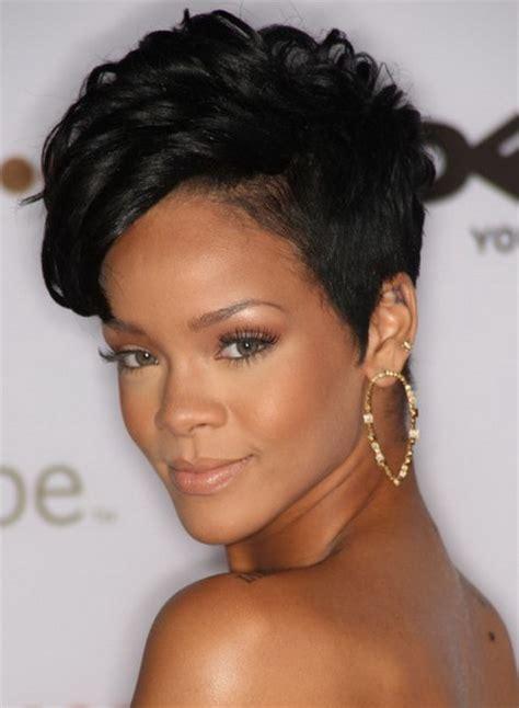 black hairstyles short weaves