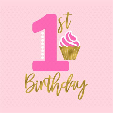 Hello crafters, i hope everyone enjoyed my first free paper flower template & tutorial! 1st birthday svg First birthday svg Cupcake Birthday | Etsy