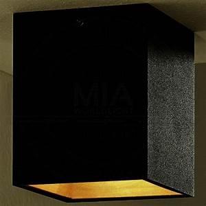 Gäste Wc Lampe : shop decken aufbau strahler led modern schwarz golden leuchte lampe spot 151 pinterest ~ Markanthonyermac.com Haus und Dekorationen