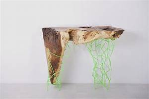 Unique Console Tables in Combination Between Natural and