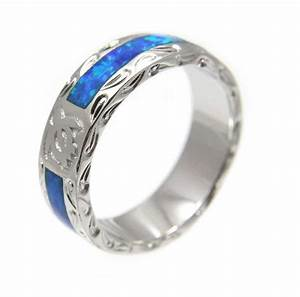 opal silver 925 hawaiian honu turtle eternity wedding band With turtle wedding ring