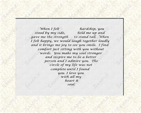 anniversary anniversary love poem    print instant