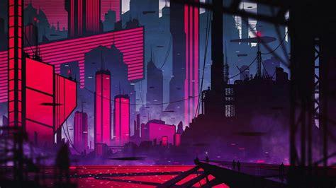 neon city wallpapers wallpaper cave
