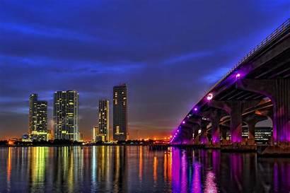 Miami Skyline Beach Wallpapers Across Interesting