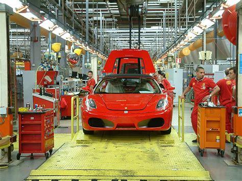 ferrari factory inside ferrari 39 s factory in maranello italy