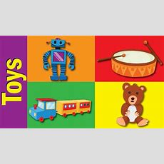 Toys Vocabulary In English  Toys Words  Fun Kids English Youtube