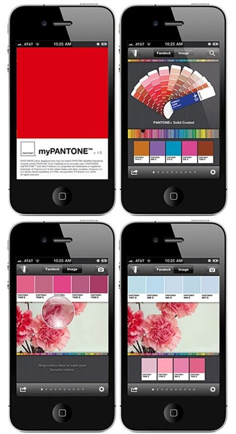 my pantone iphone app here s an app i would probably not only find useful but also fun to