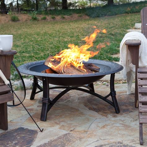 Fire Sense 35 In Roman Fire Pit  Fire Pits At Hayneedle
