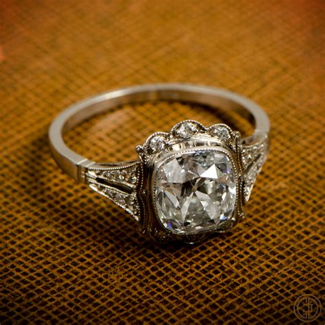 beautiful vintage engagement rings chic vintage brides
