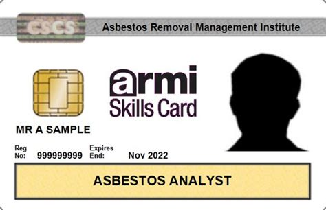 atac  issuing asbestos analyst  surveyor cscs cards
