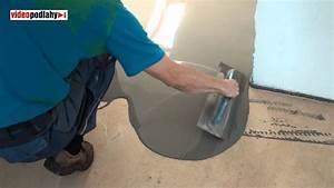 Cementová nivelace