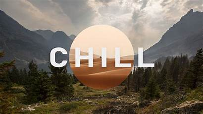 Chill Wallpapers Mountain Background Trees Clouds Field