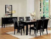 black dining room table Dining Room Sets with Wide Range Choices   DesignWalls.com