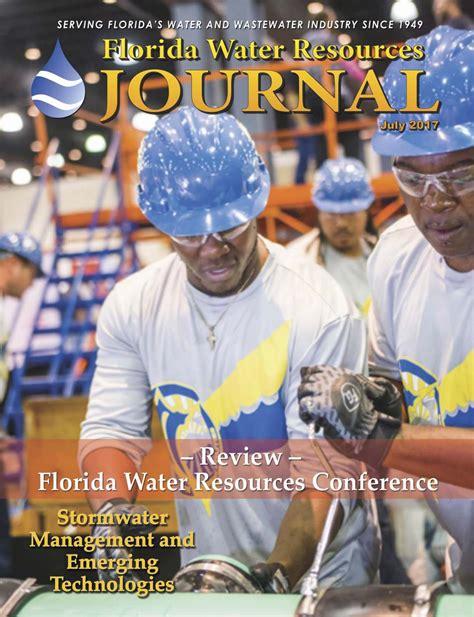 florida water resources journal july   florida