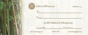Best photos of massage gift certificate template printable massage gift certificate template for Massage gift certificate template free printable