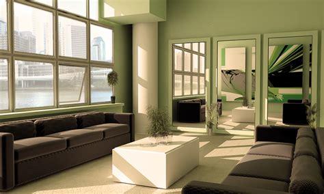 green living room green furniture