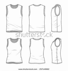 stock images similar to id 83920477 vest vector template With vest top template