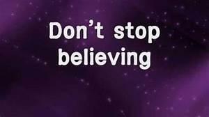 Video - Don't Stop Believin' - Journey w lyrics ...