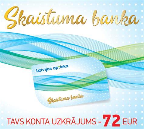 SKAISTUMA BANKA | Latvijas aptieka
