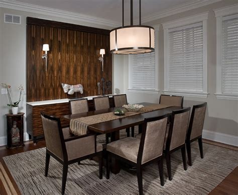 calming asian themed dining room designs