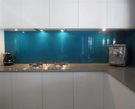 Blue Glass Kitchen Splashback  Google Search Kitchen