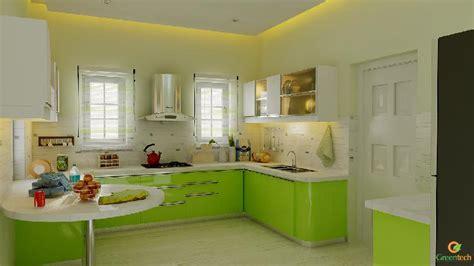 Kitchen House Model by European Type Kitchen Kerala Model Home Plans