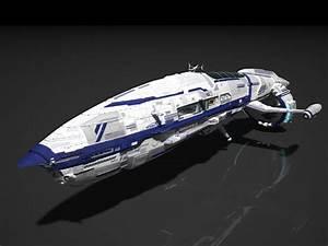 Space ship, civil ship by SmirnovArtem on DeviantArt