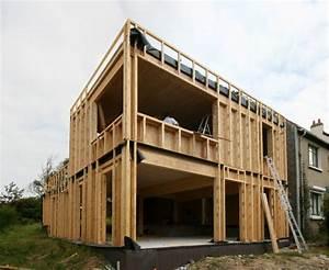 Ossature Bois Maison : maison ossature bois mob nord pas de calais ~ Melissatoandfro.com Idées de Décoration