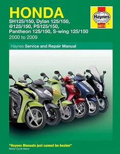 New Haynes Manual For Honda 125 Scooters