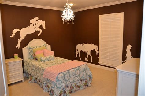 fabulous diy horse themed bedroom ideas  girls decor