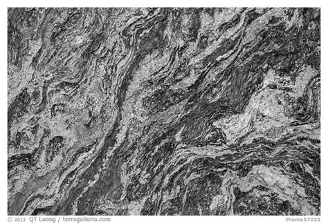black and white picture photo up of granite rock