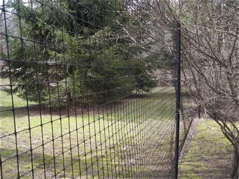deer fence design deer fence
