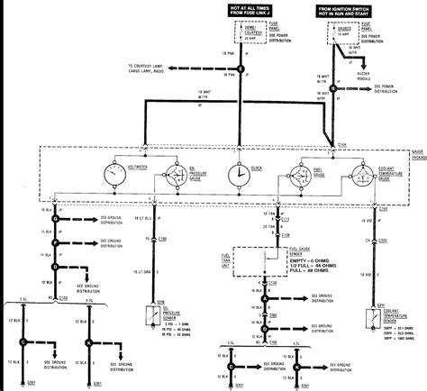 Charging System Wiring Diagram For 1998 Jeep Wrangler by Fuel Guage Non Functional I Need A Wire Diagram Of