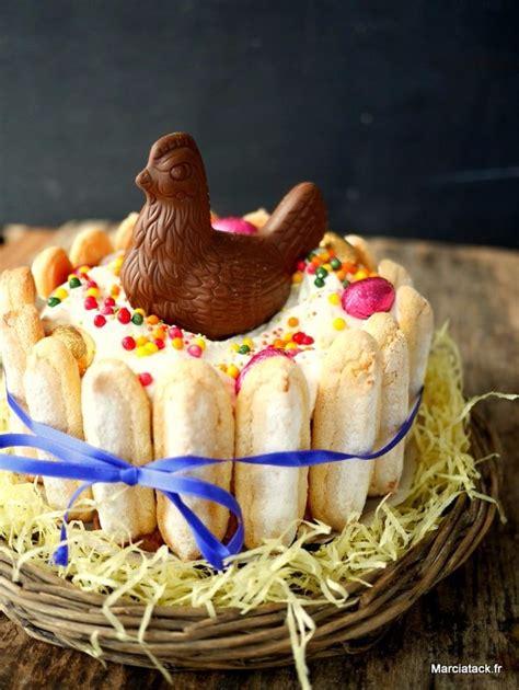 recettes extraordinaires de dessert de paques