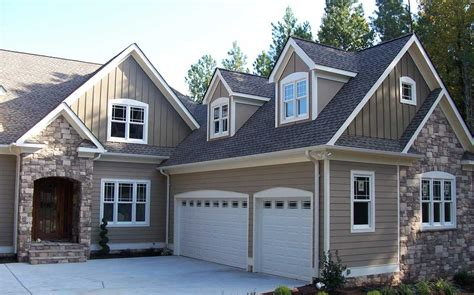 beige matching stone gray roof exterior in 2019