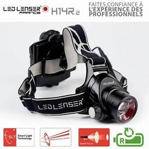 Lampe Frontale Led Lenser : lampe frontale rechargeable h14r 2 led lenser ~ Melissatoandfro.com Idées de Décoration