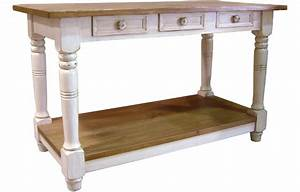 French Country Kitchen Island Work Table French Country