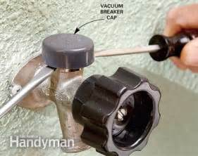 fix a leaking frost proof faucet the family handyman
