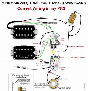 Humbucker 1 Volume T One Wiring Diagram