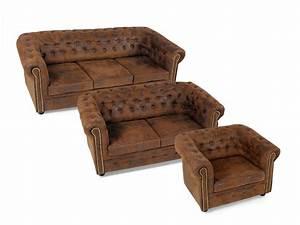 Sofa 3 2 1 : chesterfield 3 2 1 sofagarnitur gobi braun ~ Eleganceandgraceweddings.com Haus und Dekorationen