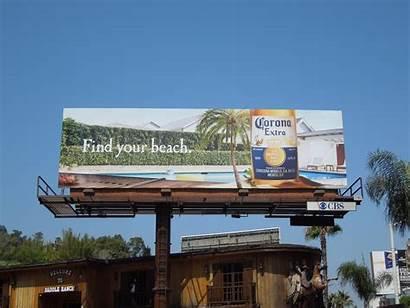 Corona Beach Billboard Beer Wallpapersafari Coronas Billboards