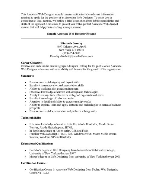 Interior Design Sle Resume by Interior Design Resume Objective Friv1k