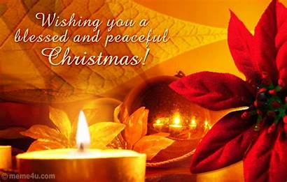 Merry Everyone Religious Blessings Blessed Holidays Ecards