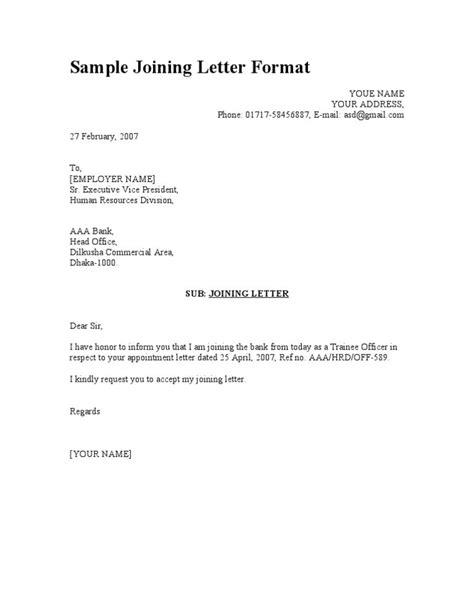 image result  joining letter  job mnnu sample