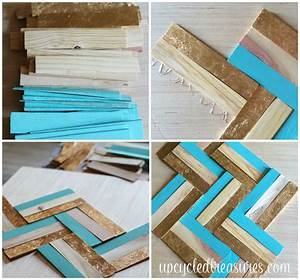 Diy gilded wood shim wall art mountainmodernlife