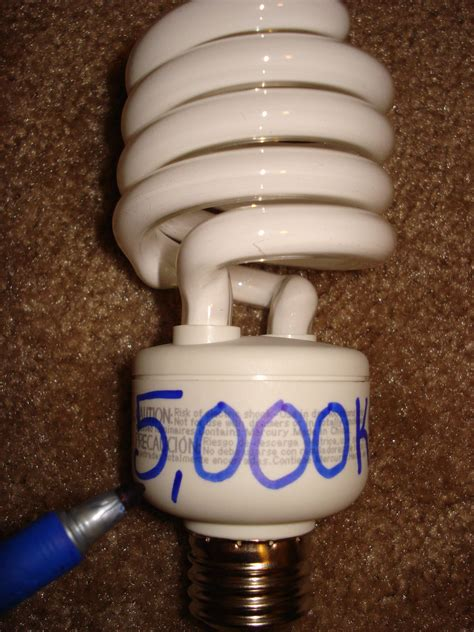 cfl color question is 6500k bulbs better than 5000k for